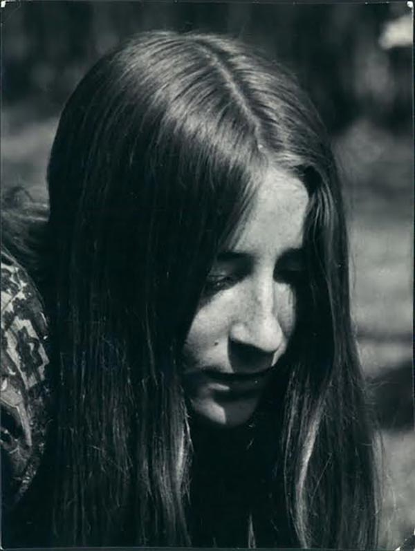 Patricia Albere as a young woman
