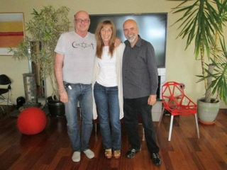 Patricia Albere with Ken Wilber