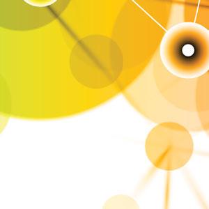 bubble pattern circle